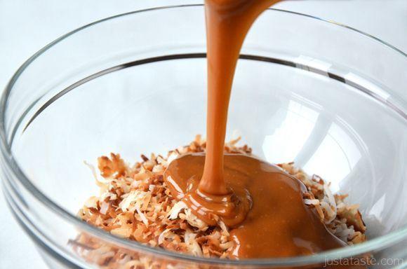 ココナッツトッピングを作る