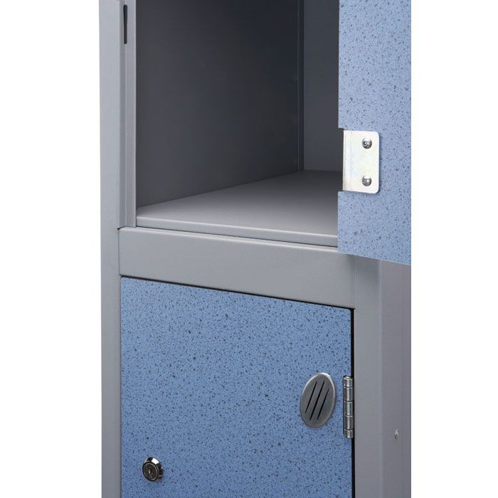 Trespa door laminate locker accessories accessories for Wood lockers with doors