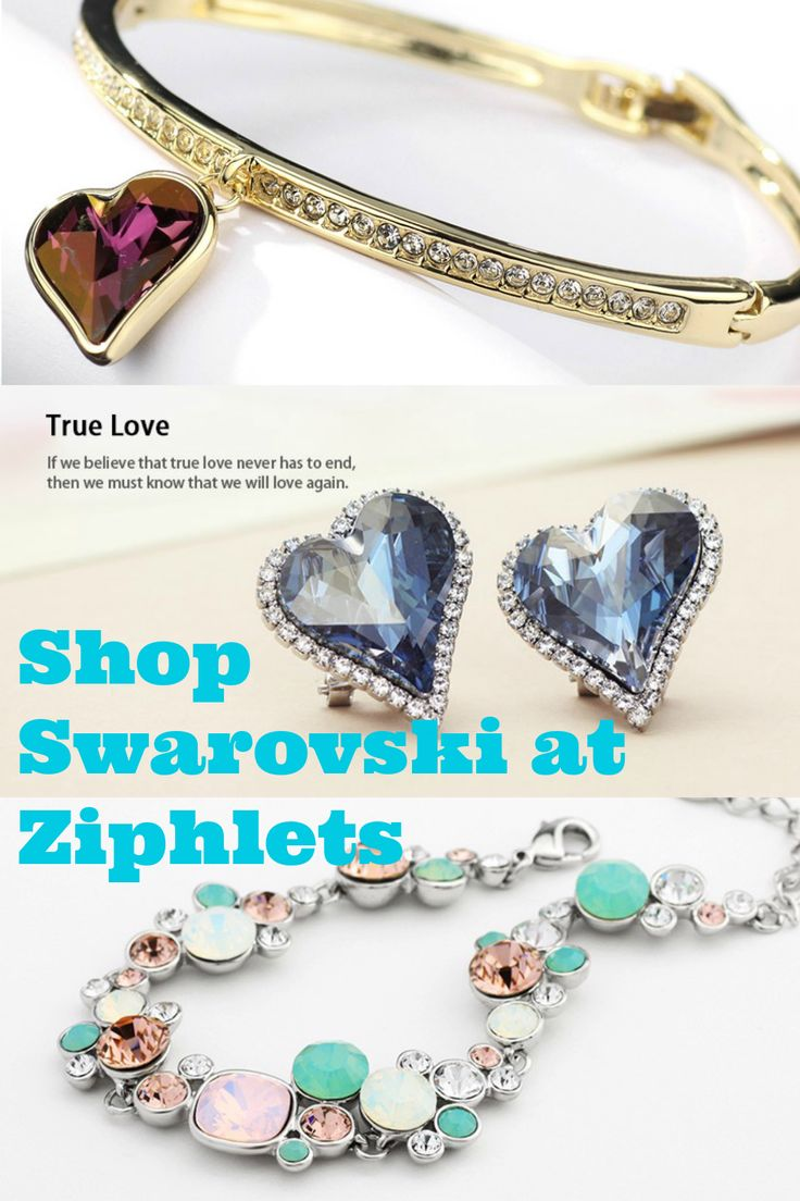Find affordable Swarovski crystal jewelry at Ziphlets. Use code Swa-074 for 10% off all Swarovski crystal jewelry