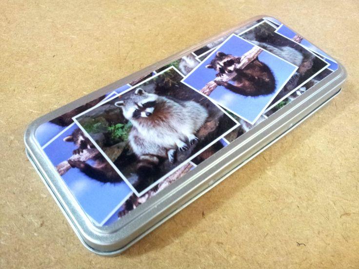Non sarà un animaletto domestico ma questa scatolina in metallo è decisamente simpatica