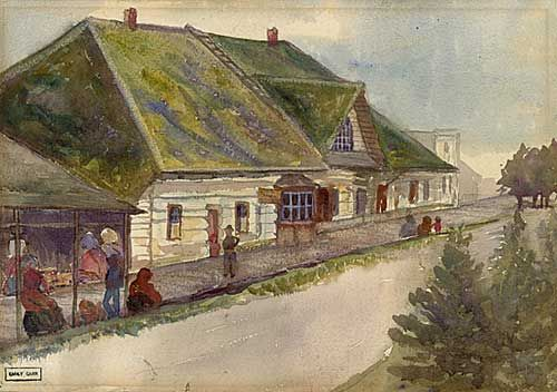 Sitka, At the Bakery & Shops of the Russians