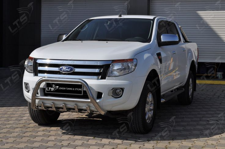 #Ford #Ranger Chrome Axle Nudge A-Bar, Bull Bar 2012 - 2013 Models