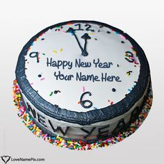 Create Happy New Year Wishes Cakes With Name and give a sweet surprise to your dear ones with best online name generator. A best and free New Year gift you can give to anyone in no time.