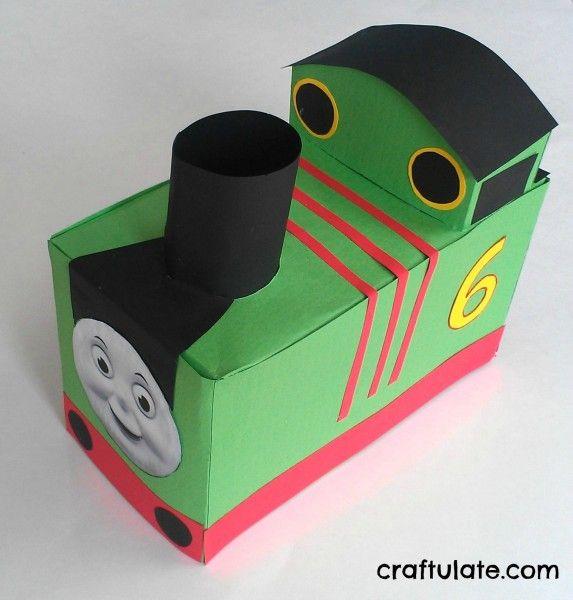 Tissue Box Train Tutorial