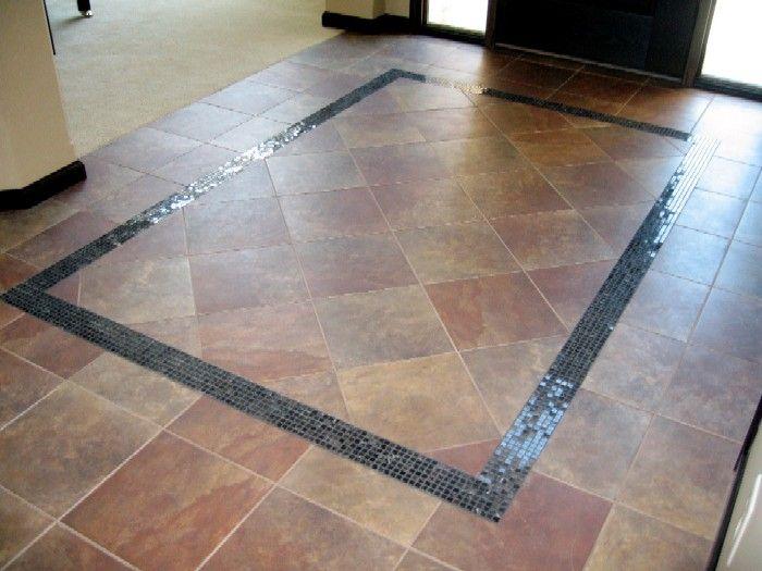 Foyer Tile Rug : Best images about entry way on pinterest floor tile