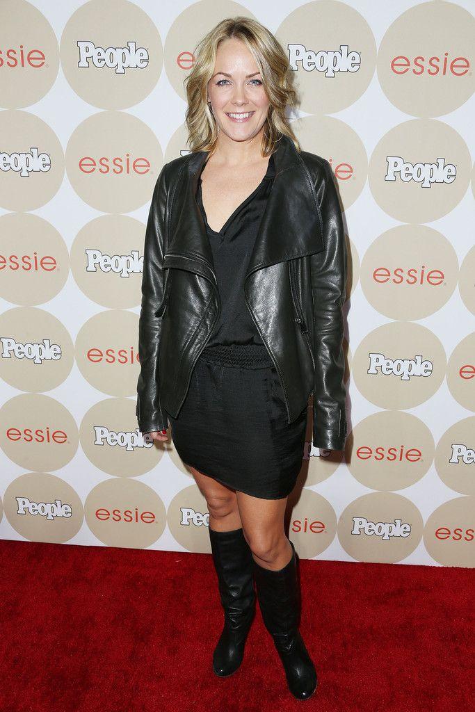 Andrea Anders Leather Jacket - Leather Jacket Lookbook - StyleBistro