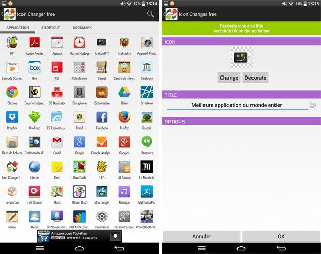 Android pour les débutants : comment changer les noms des applications