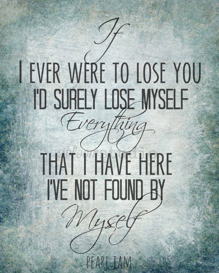 "Pearl Jam - Song Lyric Art print ""Future Days"" 8x10 Lyric art print, Music Lyric…"