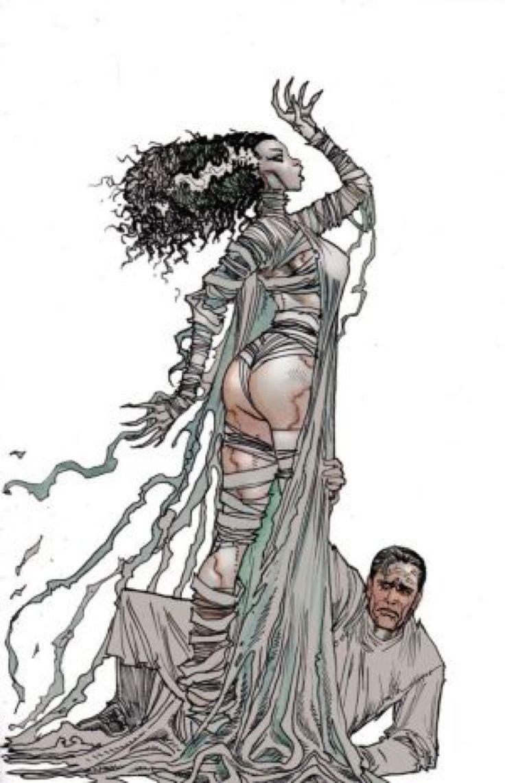 Mejores 1196 imágenes de COMICS - BRIDE OF FRANKESTEIN en Pinterest ...