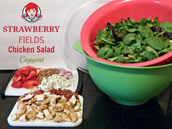 Wendy's Strawberry Fields Chicken Salad Copycat Recipe