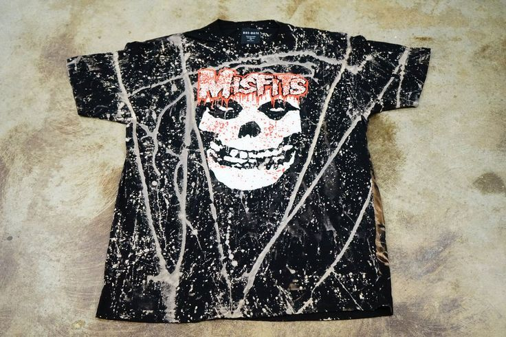 Bleached MISFITS Classic Tee