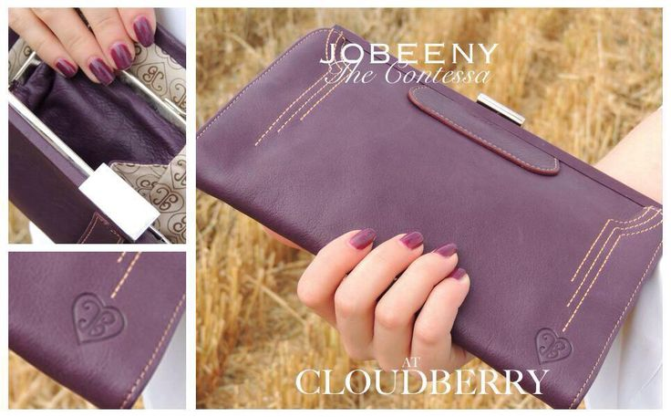 The Aubergine Contessa Purse by JOBEENY