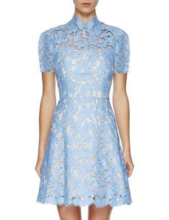 Lover Warrior Lace Mini Dress #davidjones #djsfashion #style #autumn #winter #fashion #lover #lace