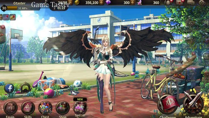 HIT ( Heroes of Incredible Tales ) - Acher Lv 30 Gameplay ( Best ARPG  M...