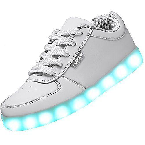 Odema Women S Usb Charging Led Sport Shoes Flashing