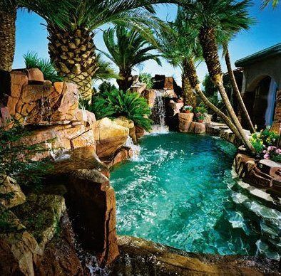 awesome swimming pool for the home