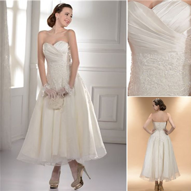 Simple Ankle Length Lace Wedding Dresses White Three: Best 25+ Ankle Length Ideas On Pinterest