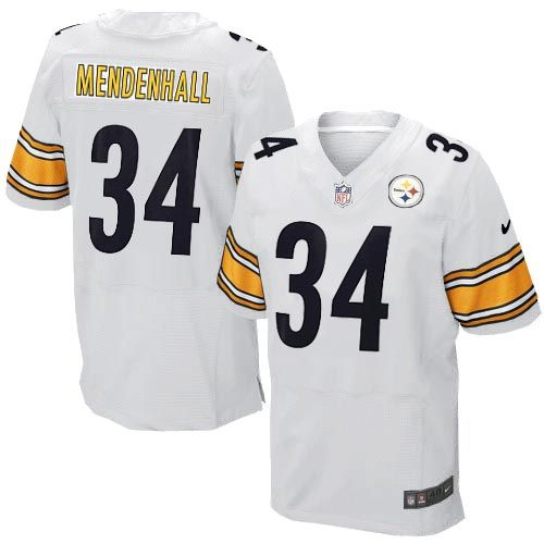 Pre-order the new 2012 NFL Mens Elite Nike Pittsburgh Steelers http://#34 Rashard Mendenhall White Jersey right now at official Steelers Shop! We are the http://#1 source for . Size: S M L XXL XXXL 46 48 50 52 54 56 58. NFL Mens Elite Nike Pittsburgh Steelers http://#34 Rashard Mendenhall White Jersey for men, womens and kids at Steelers shop where 3-Day shipping on any size order is free shipping.$129.99