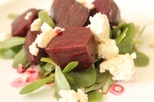 ... lightly smoked beet salad recipes dishmaps lightly smoked beet salad