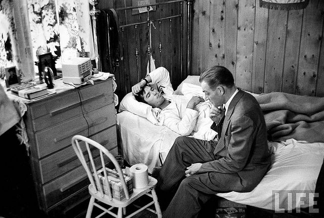 Home visits-   W. Eugene Smith, Country Doctor. Gone are the days of home visits. I was born in the country and the Dr. came out to deliver me. When my kids were small, lived in the country again and our Dr. came out when they were sick.