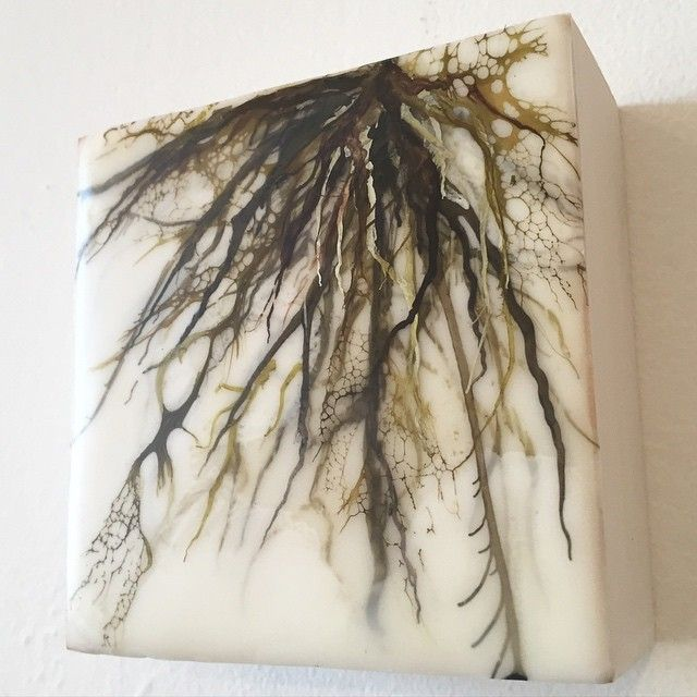 Back to my roots. Little concept piece. #art #encaustic #aliciatormey #fineart…