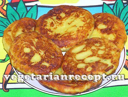 Фото-рецепт картофельных зраз с сыром