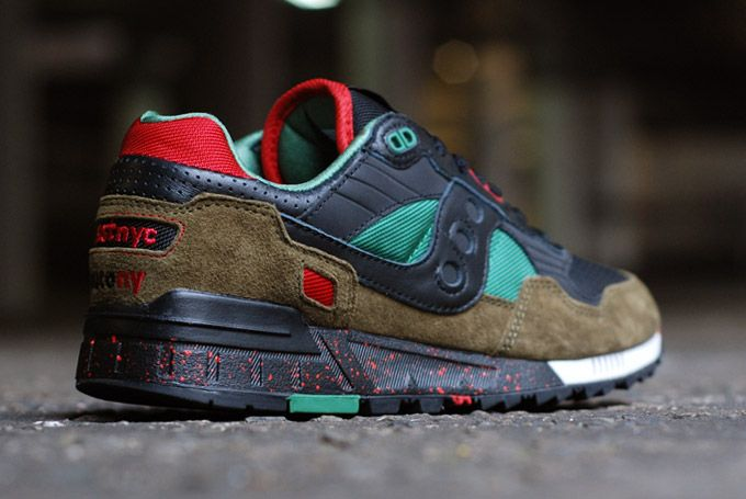 News - Saucony & West NYC: footwear with Cabin Fever | FREE Global Sneaker Shipping | CrookedTongues.com — Selling soles since 2000
