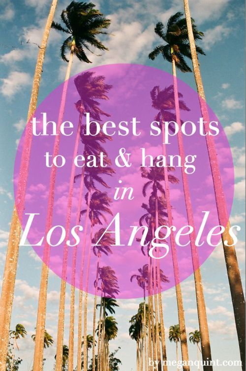 los angeles hook up spot Without researching where to go lucky for you, we've done most of the leg work for you and found the 25 best campgrounds within two hours of los angeles.