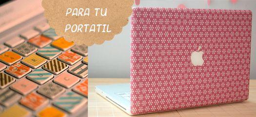 proyecto washi tape ordenador portatil