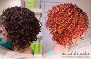Corte Assimétrico ou Chanel de bico para cabelo cacheado curto