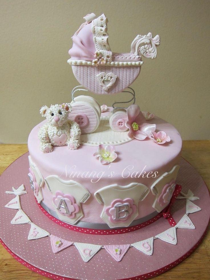 Baby Stroller Cake Ideas