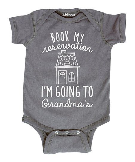 Show love for grandma with this sweet and snuggly bodysuit, designed with comfort and quick changes in mind.