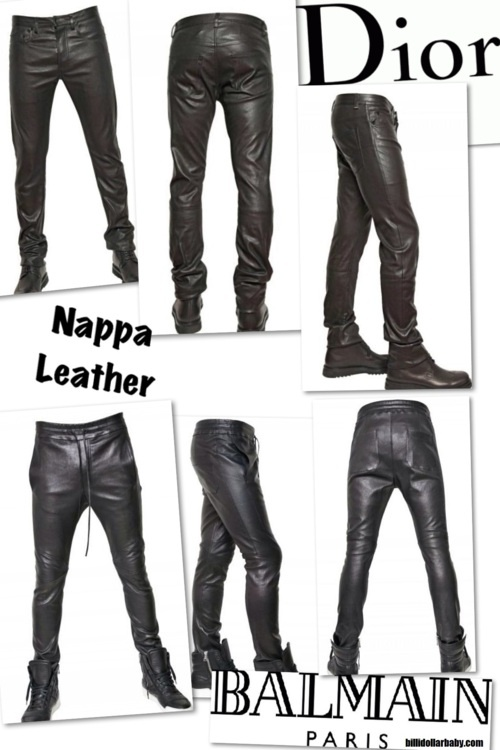 Men's Leather Trousers - Do Men Look Good In Leather Trousers? - Men Style Fashion