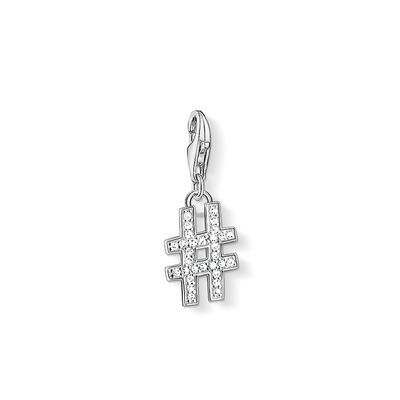 11-1249 THOMAS SABO Charm pendant from the Charm Club Collection. Put a  hashtag