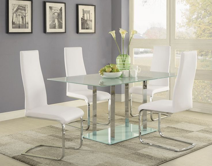 Best Glass Dining Table Set Ideas Only On Pinterest Glass