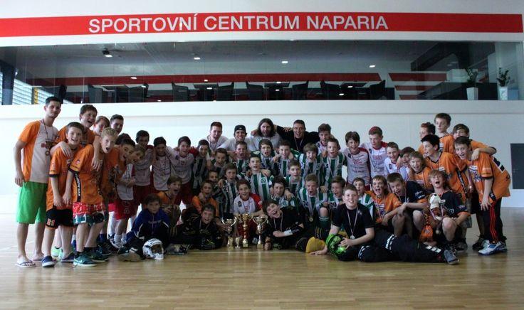 2.místo setkánímladšíh žáků ve florbale Hranice na Moravě
