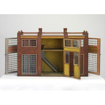 Roger Fry (England 1866-1934), doll house, wood, 1913-1919. Produced for Omega…