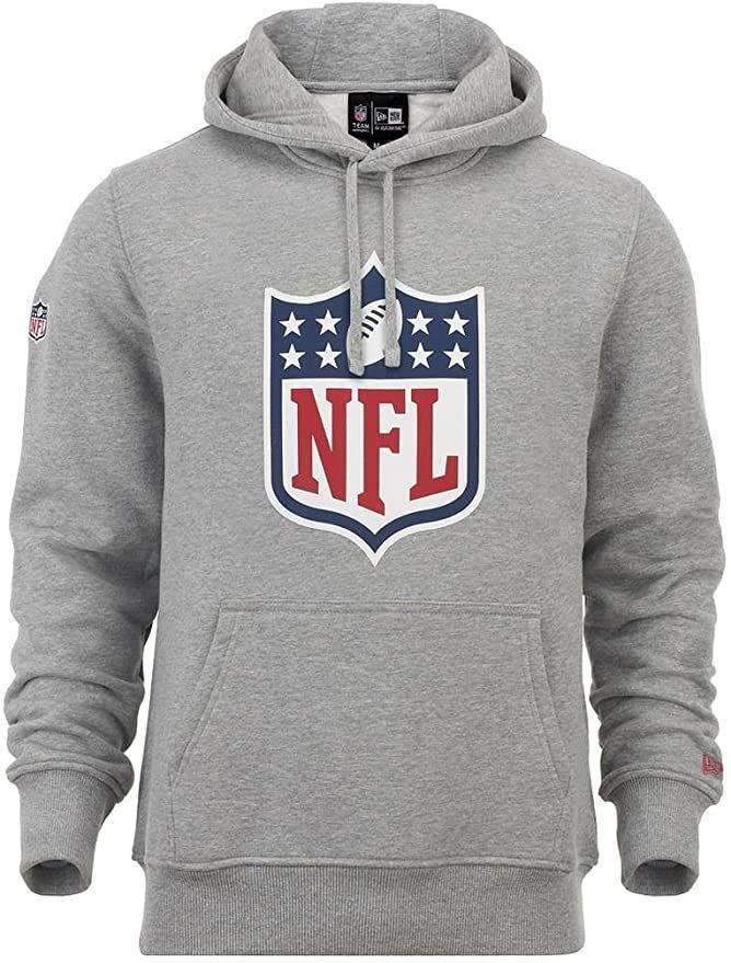 New Era NFL Hoodie Herren HEATHER GREY im Online Shop von