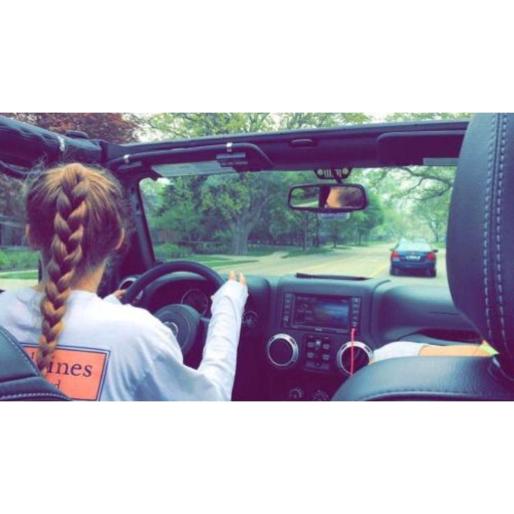 braids, vineyard vines, and jeeps