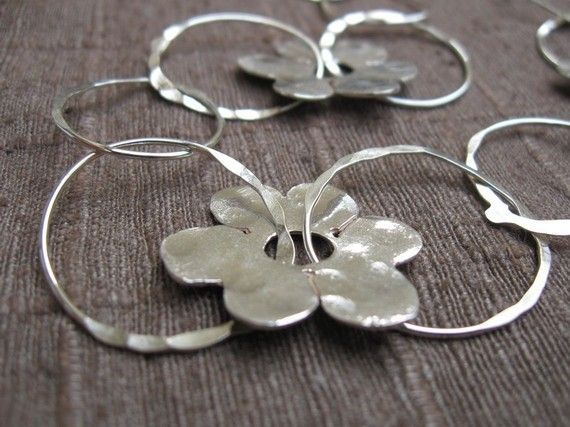 Sterling+Silver+Necklace+Handmade+Rings+and+by+jewelrybymichal