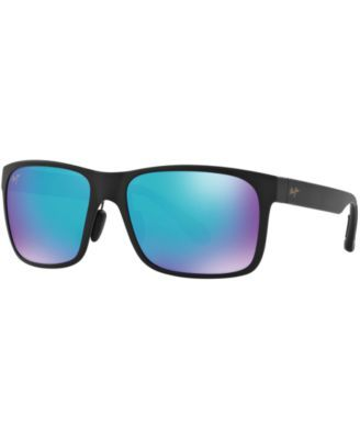 Maui Jim Sunglasses, 432 RED SANDS, Blue Hawaii Collection