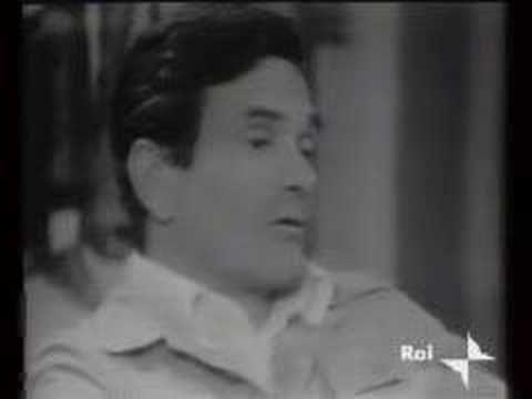 """PIER PAOLO PASOLINI intervistato da ENZO BIAGI  """"La televisione è un medium di massa e un medium di massa non può che mercificarci e alienarci"""" P. Pasolini"""