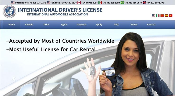 How to Apply For International Driver's License in Florida? At International Automobile Association, we provide the international driving license, permit & documents online with multiple language translation. We offer Free Shipping in US & take 3 days for international delivery.