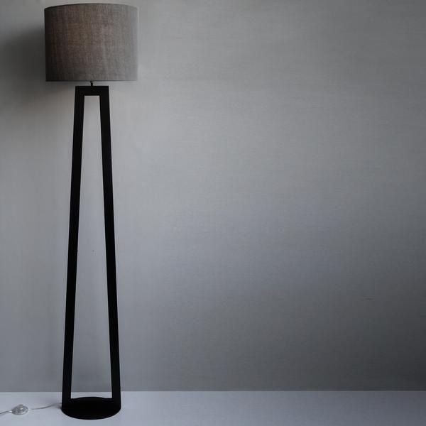 Bedside Floor Lamps Standing Modern Lights Tall Contemporary Black Lamp