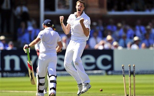 Morne Morkel - the heir to West Indian bowling greats!