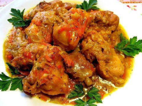 Вкусно - #КРОЛИК тушеный в сметане #Рецепт Тушеные Рецепты - YouTube