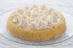 Бисквитный торт Три молока