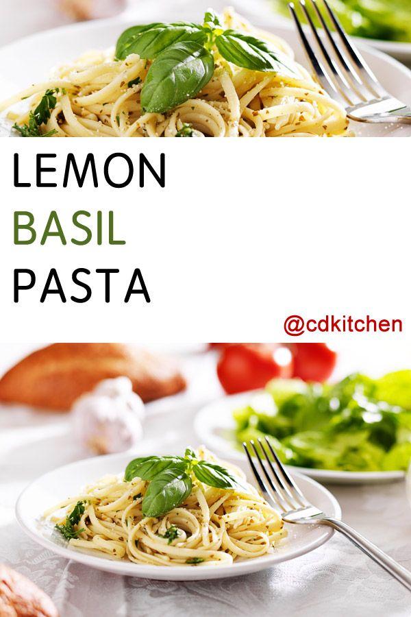 Lemon Basil Pasta   Recipe   Butter, Juice and Linguine