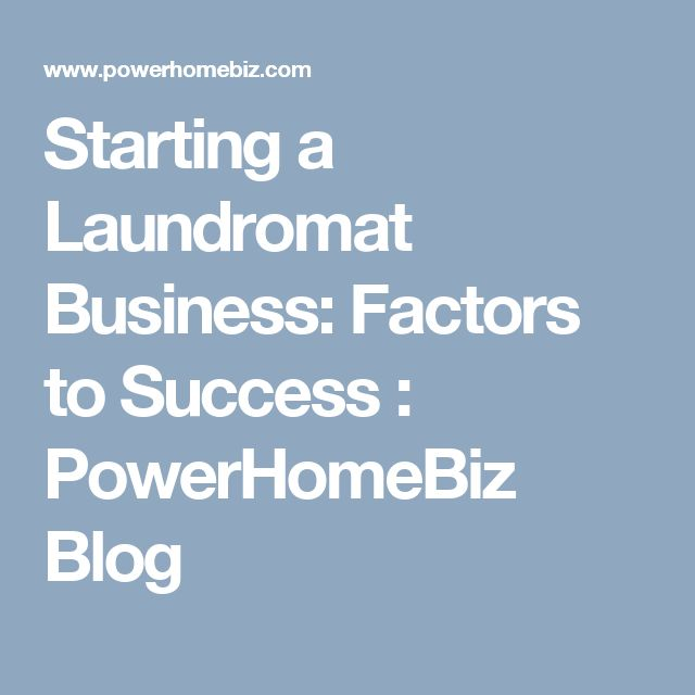 Coin Laundry Business Plan & Startup Guide to Run Profitable Business