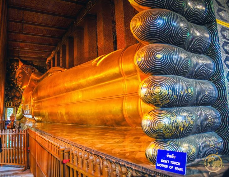 Wat Pho - Temple of Reclining Buddha This is the largest and oldest temple, said to be constructed around 200 years before Bangkok became the capital of Thailand.  read more @ http://www.worldatglance.com/2014/12/7-must-visit-places-of-bangkok.html
